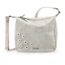 Tamaris Hobo Bag Luna light grey comb