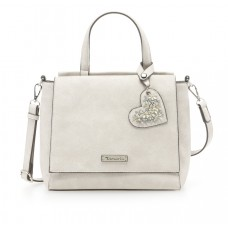 Tamaris Handtasche Milla light grey