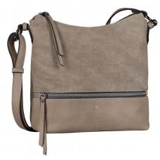 Tom Tailor Handtasche Jess taupe