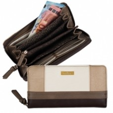 Tom Tailor Geldbörse lang Juna taupe