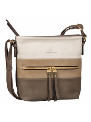 Tom Tailor Cross Bag Marit taupe
