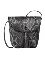 Tom Tailor Denim Flapbag Ida Snake schwarz